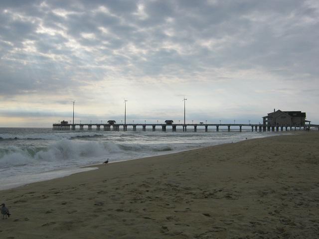 Dredged Beach