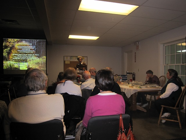 Speaking at November 2013 MAC of American Rhododendron Society